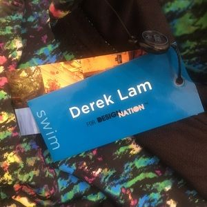 Derek Lam Swim - Derek Lam Monokini in Nightshade